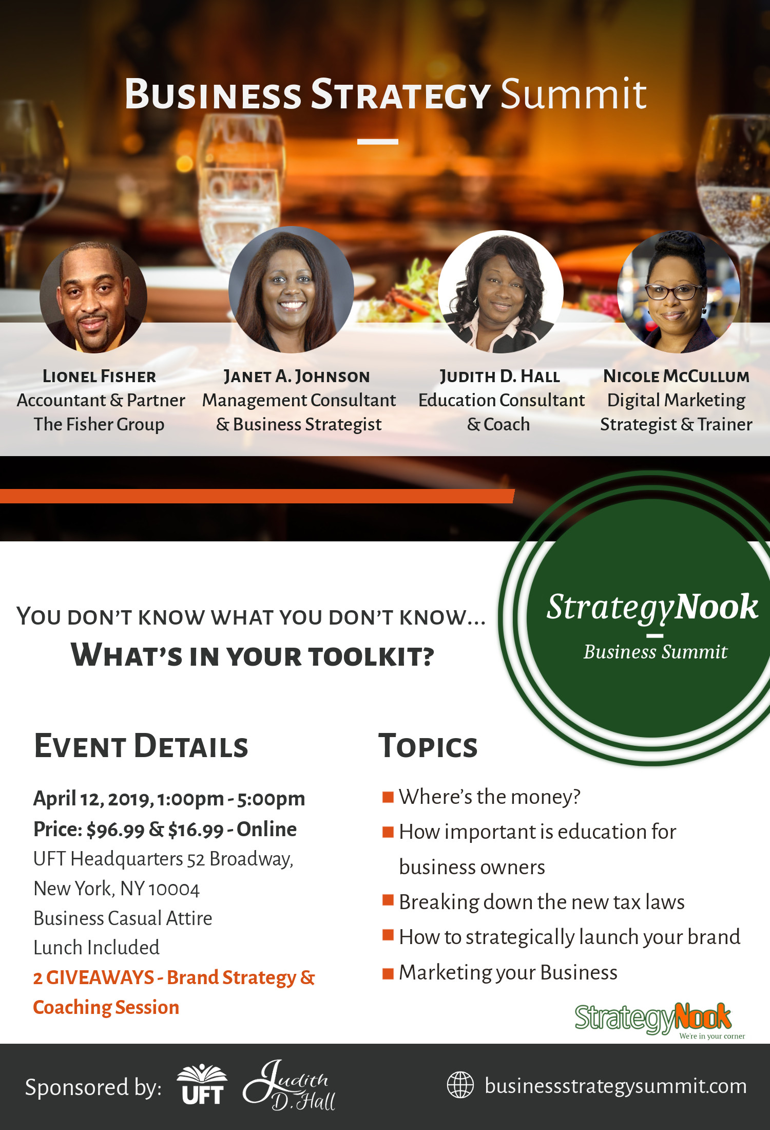 Business Strategy Summit - StrategyNook